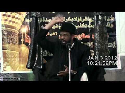 India Maulana Kamran Haider Majlis 8 Asra Muharram/Saffar 1433/2011