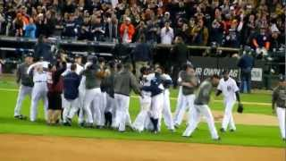 Tigers-Yankees 2012 ALCS Game 4 Celebration