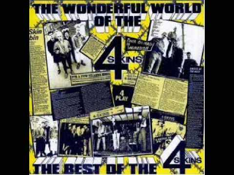 The 4-Skins - What A Wonderful World