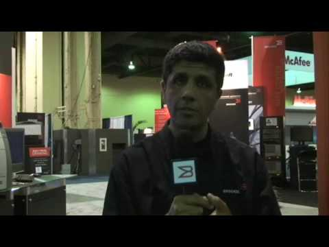 Brocade's Sanjay Khanna Discusses the NetIron MLX platform from Interop 2009