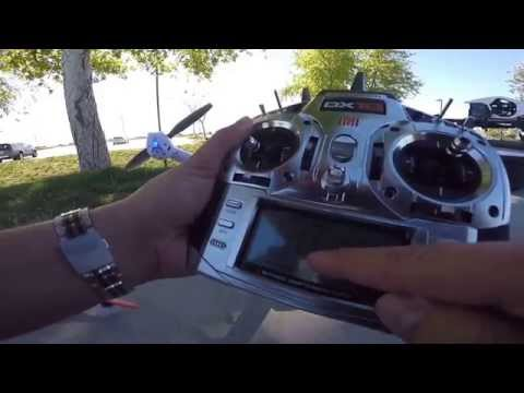 Blade 350 QX3 with GPS, Stability Mode and Stagility Mode on DX18 with quick demo flight