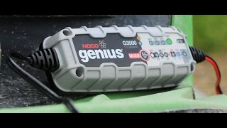 Noco G3500 Battery Charger Review!
