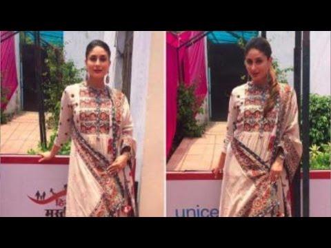 Kareena Kapoor Khan Hides her Baby Bump At An Event