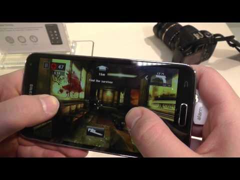 Samsung Galaxy S5 Gaming Demo at MWC 2014