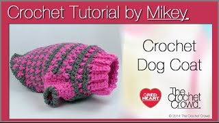 Crochet Simple Dog Sweater