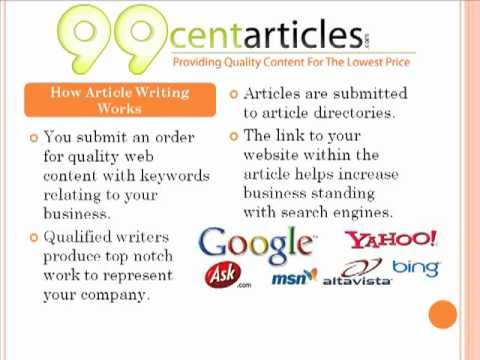 0 Best Article Writers at 99centarticles.com Article Writing Service
