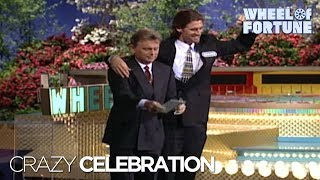 Crazy Bonus Round Celebration | Wheel of Fortune