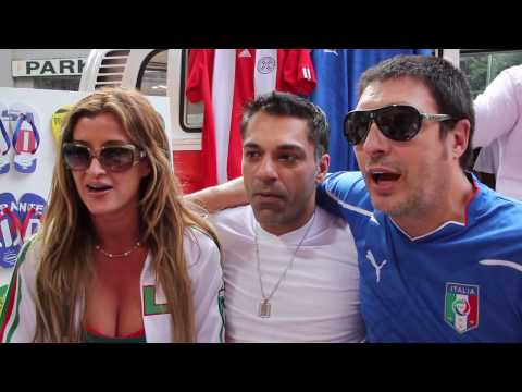 90 Minutes in 90 Seconds: Italy vs. Paraguay!