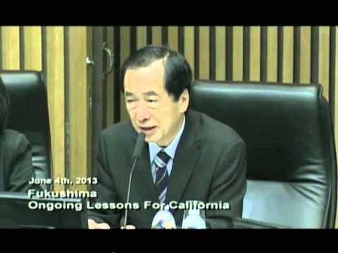Naoto Kan - Fukushima Lessons for Nuclear Power in California - Excerpt 1
