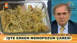 İbrahim Saraçoğlu Erken Menepozun Çaresi Video