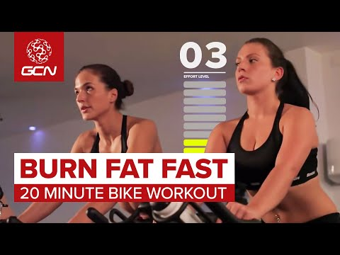 Burn Fat Fast: 20 Minute Spin Class Workout