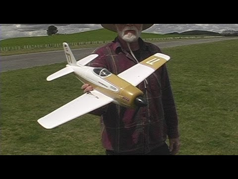 HobbyKing Rare Bear RC plane review part 2 (the test flight)