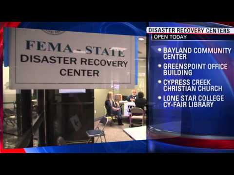 4 @fema state disaster recovery centers open following #HOUSTONFLOOD