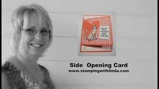 Creative Side Opening Card