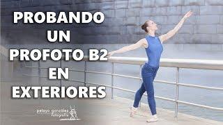 Probando un Profoto B2 - Sesión de fotos de ballet en exteriores