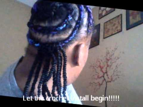 Nubian/kinky twist using crochet method tutorial. edited shorter version of a previous upload!!!
