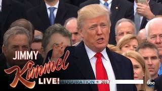 Jimmy Kimmel on Donald Trump's Inauguration