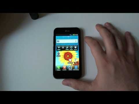 Video-Review: LG P970 OPTIMUS Black