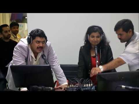 Talkathon  Guinnes Record By Hit 96.7  FM Dubai ( MITHUN AND SINDHU )