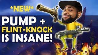 PUMP + FLINT KNOCK = DOUBLE PUMP!?   HIGH KILL FUNNY GAME