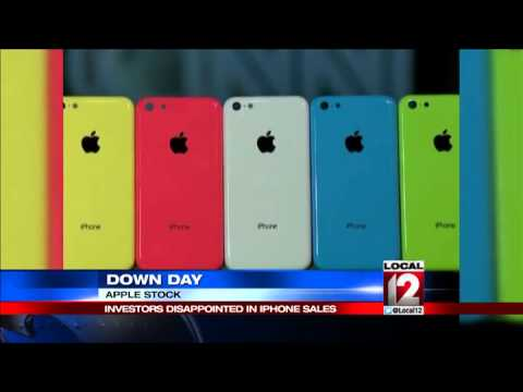 Strong iPhone sales; Apple stock down with few watch details