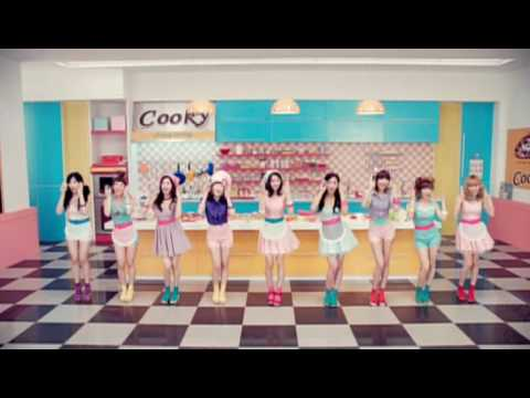 SNSD 소녀시대  Girls' Generation - Cooky MV (CF) [HQ]