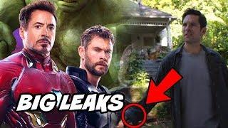 Avengers Endgame TV Spot Ant man revealed new Details Breakdown Avengers Infinity War