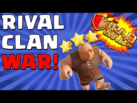 Clash of Clans   RIVALRY CLAN WAR!   Super Epic Raids Attacking My Old Friends!
