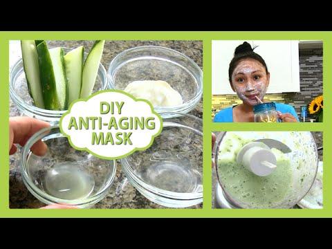 DIY Homemade Anti-aging Mask