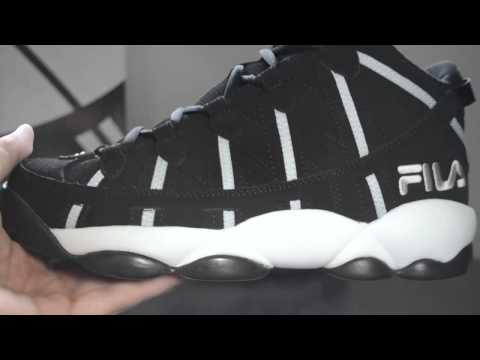 Fila Spaghetti - Brooklyn Nets Away Colorway:Jerry Stackhouse Signature