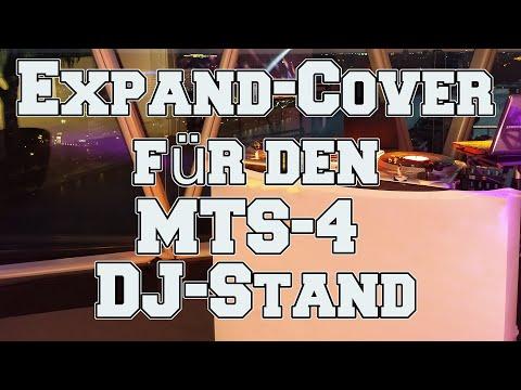 expand-cover für den MTS-4 DJ-Stand