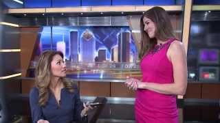 Behind the scenes at FOX 26 News with anchor Rita Garcia & producer Tori Haynes