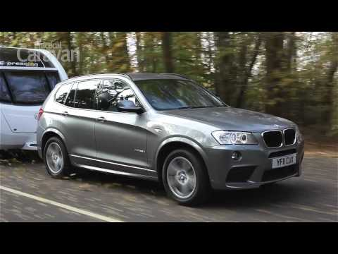 Practical Caravan   BMW X3   Review 2012