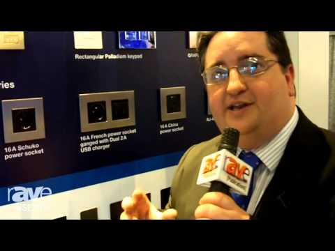 ISE 2016: Lutron Details Palladiom Keypad for Lighting Systems