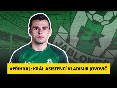 Přihraj:Král asistencí Vladimir Jovovič: Nejdůležitější je týmový výsledek