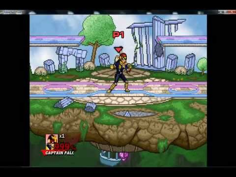Super Smash Flash 2 v0. 8a — Captain Falcon