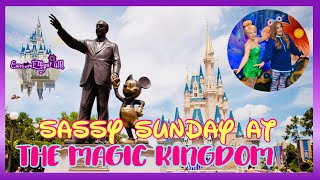 🔴LIVE:Sassy Sunday at The Magic Kingdom|Haunted Mansion|Jungle Cruise| Festival of Fantasy Parade