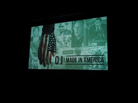 O.J. MADE IN AMERICA Los Angeles premiere introduction, June 1, 2016