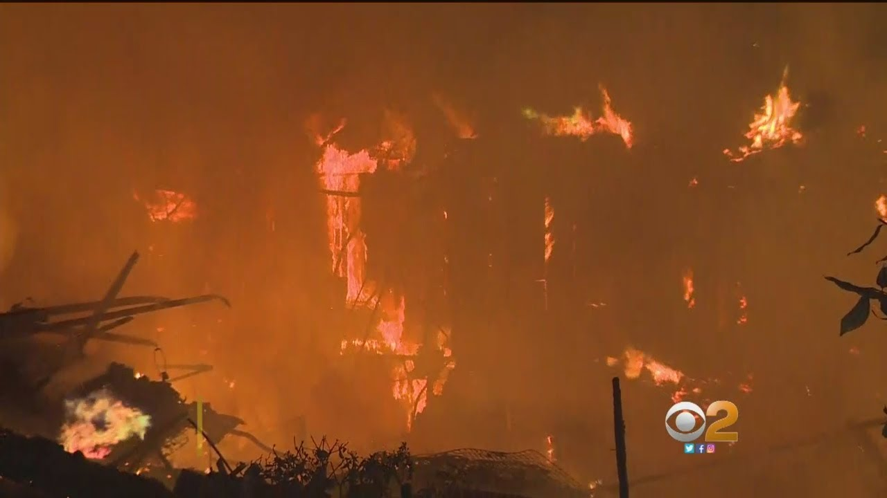 Fires In Northern California Kill At Least 10