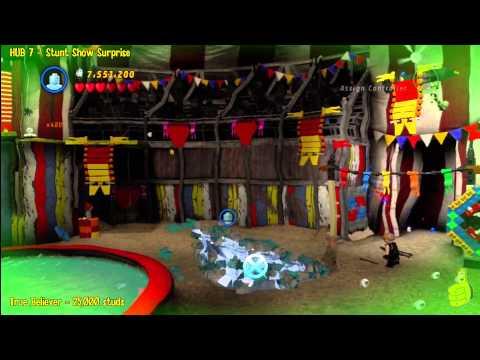 Lego Marvel Super Heroes: HUB 7 Stunt Show Surprise - Story Walkthrough - HTG