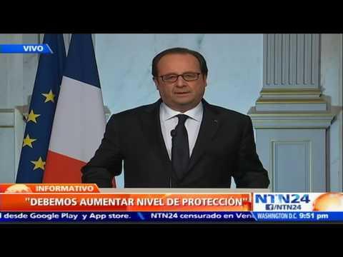 """""""Componente terrorista no puede ser negado"""": Francois Hollande tras atentado en Niza"""