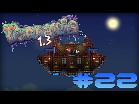 Terraria 1.3.0.8 Прохождение карт: #22 Echoes of the Lost World