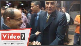 بالفيديو.. أكرم القصاص وياسر رزق ومحمود حميده وإلهام شاهين فى عزاء أحمد رجب
