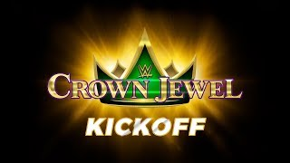 WWE Crown Jewel Kickoff Nov 2 2018