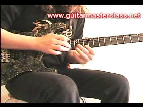 Emir Hot - Symphony X (Michael Romeo) style lesson