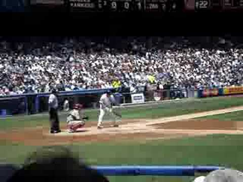 xavier nady 1st at bat aug 3rd 2008 Video