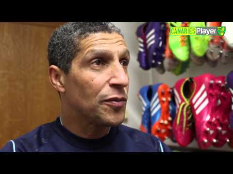 Crystal Palace vs Norwich City: Chris Hughton One-On-One