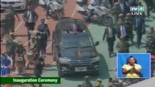 Zambia Presidential Inauguration Ceremony  2016