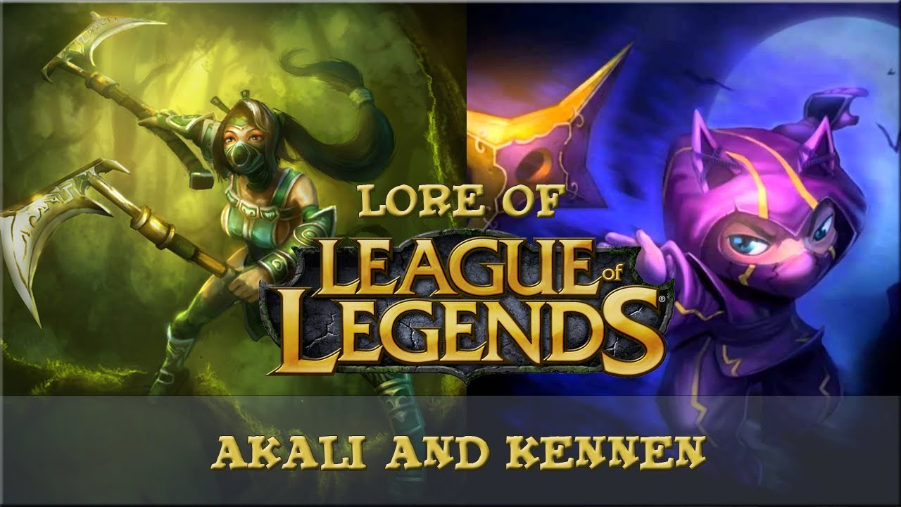 Lore of League of Legends [Part 47] Akali and Kennen - YouTube