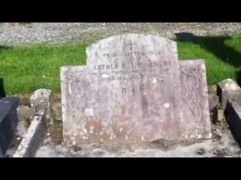 The real Fr. Jack Mundy's grave in County Donegal Video